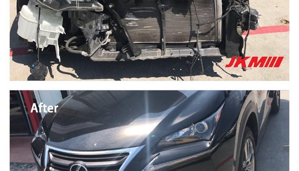 湾区修车前后对比图